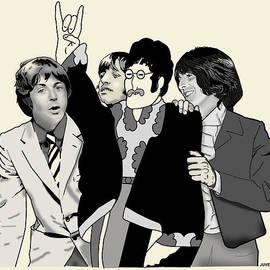 Joseph Juvenal - Beatles with Cutout John