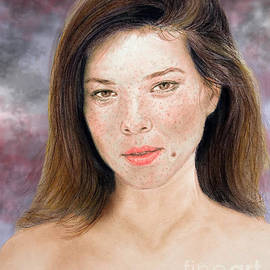 Jim Fitzpatrick - Beautiful Actress Jeananne Goossen Updated Version