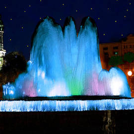 Bruce Nutting - Beautiful Blue Fountain