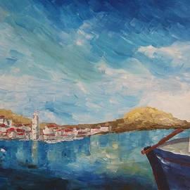 M Bleichner - Beautiful Chalki Harbour Rhodes Greece
