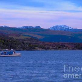 Joan-Violet Stretch - Beautiful Evening at Ullapool