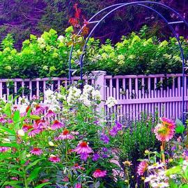 Annie Zeno - Beautiful Flower Garden