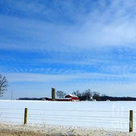Tina M Wenger - beautiful Indiana winter sky