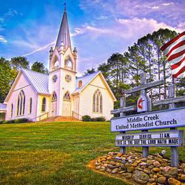 Randall Branham - Beautiful Old Smoky Mountain Church