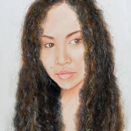 Jim Fitzpatrick - Beautiful Thai  Artist and Model Dao II