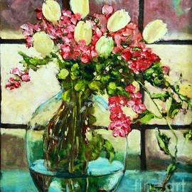 ElsaDe Paintings - Beauty in the window