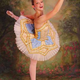 ARTography by Pamela  Smale Williams - Beauty The Ballerina