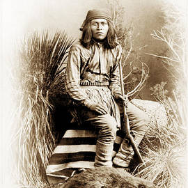 Paul W Faust -  Impressions of Light - Beaver Hunter - American Indian