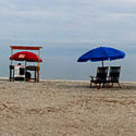 Thomas Marchessault - Beach Chairs Panorama Hilton Head