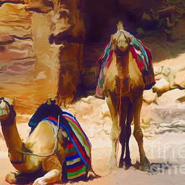 Ted Guhl - Bedu Camels on the Silk Road