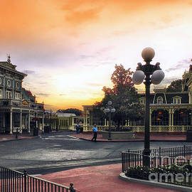 Thomas Woolworth - Before The Gates Open Magic Kingdom Walt Disney World