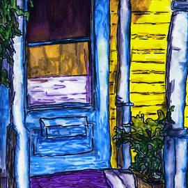 Jo-Anne Gazo-McKim - Behind the Blue Door