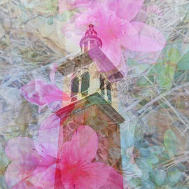 Judy Hall-Folde - Bell Tower Wrapped in Spring