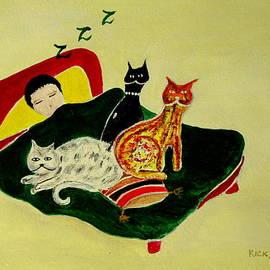 Veronica Rickard - Ben and the Cats