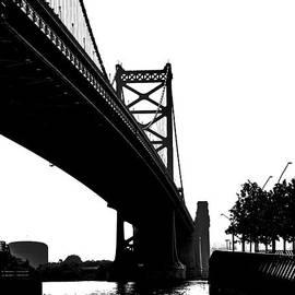 Tom Gari Gallery-Three-Photography - Ben Franklin Bridge