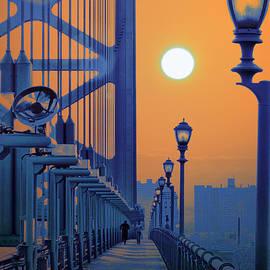 Bill Cannon - Ben Franklin Bridge Walkway