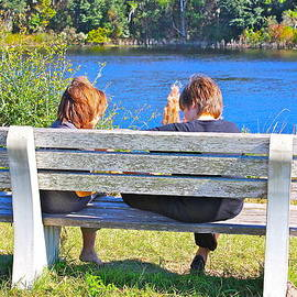 Lorna Maza - Bench By The River