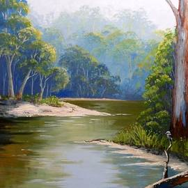 Anne Gardner - Bend in the river