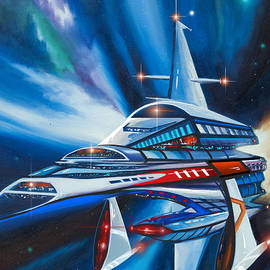 James Christopher Hill - Berkey IV Starship