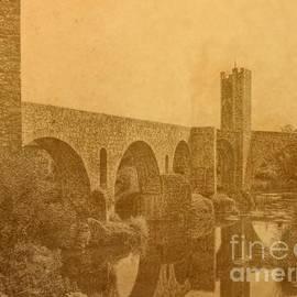 Nigel Fletcher-Jones - Besalu Bridge