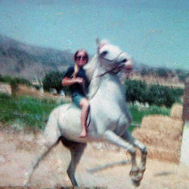Colette V Hera  Guggenheim  - Best friends year 1967-68-69 Horse Rayo - Colette