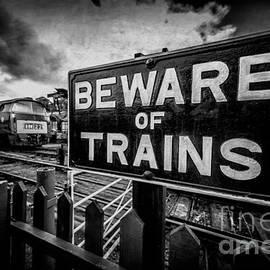Adrian Evans - Beware of Trains