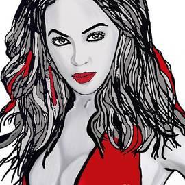 Saundra Myles - Beyonce the Beautiful