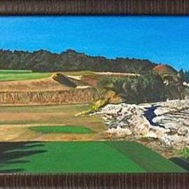 Frank Giordano  - Biarritz hole at Fishers Island golf course