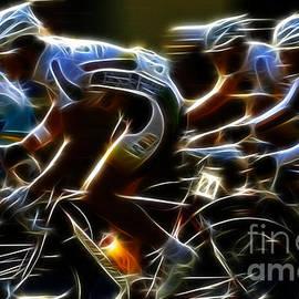 Bob Christopher - Bicycle Art Criterium Racing