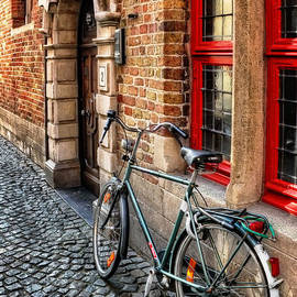 Carol Japp - Bicycle in Bruges