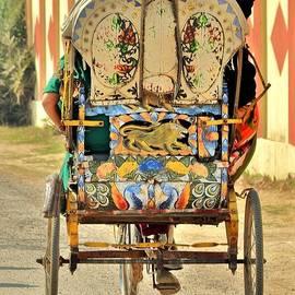 Kim Bemis - Bicycle Rikshaw - Kumbhla Mela - Allahabad India 2013