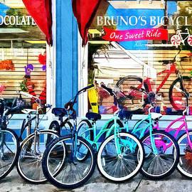 Susan Savad - Bicycles and Chocolate