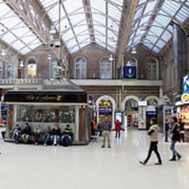 Thomas Marchessault - Charing Cross Station Panorama