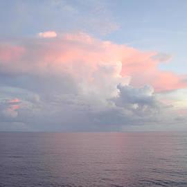 Bradford Martin - Big pink cloud over sea