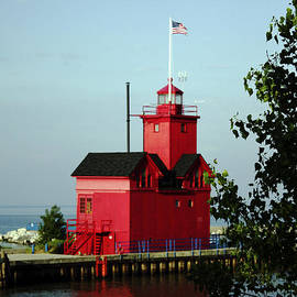 Denise Woldring - Big Red Lighthouse #1