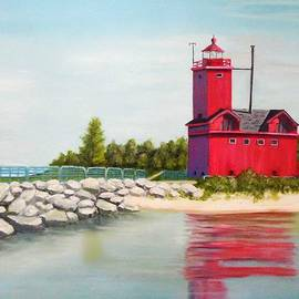 Janet Guss - Big Red Lighthouse