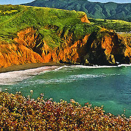 Bob and Nadine Johnston - Big Sur California Coastline