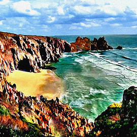 Bob and Nadine Johnston - Big Sur Coast California Original Painting