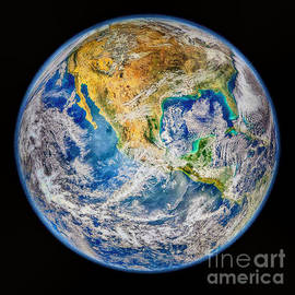 Bob and Nadine Johnston - Biggest Image of Earth Ever N. A. S. A