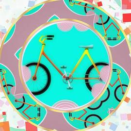 L Wright - Bike Abstract