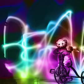 Susan Stone - Bike Riding Bear