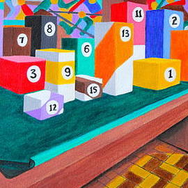 Lorna Maza - Billiard Table