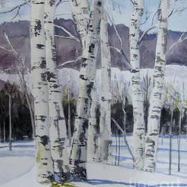 Carol Flagg - Birch Trees in Winter