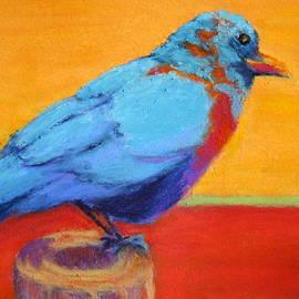 Nancy Jolley - Bird on a Post