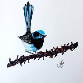 Anne Gardner - Bird on a wire