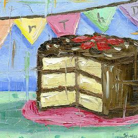 Shalece Elynne - Birthday Bunting Cake