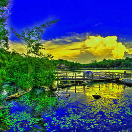 Mike  Deutsch - Blue Sky Over Waccabuck Lake