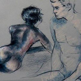 Joseph Levine - Black and White on Gray