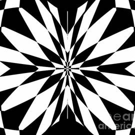 Drinka Mercep - Black White Op Art No.231.