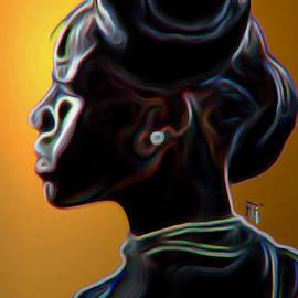 Fli Art - Black Diamonds and Pearls
